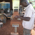 Brick making machine for PEFO (Uganda)