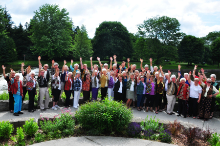 Guelph GoGo Grandmothers (4Gs) June 2015 picnic meeting