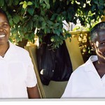 Home-based care workers at Ranchod Hospice in Zambia (Photo Liz Marshall)