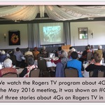 Watching Rogers TV program
